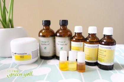 植物油を活用! カンタン美容オイル・レシピ